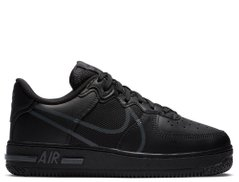 Кроссовки Nike Air Force 1 React (GS) Black (CD6960-003) - оригинал в Украине