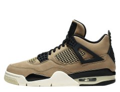 Кроссовки Air Jordan 4 Mushroom Brown Black (AQ9129-200), 39