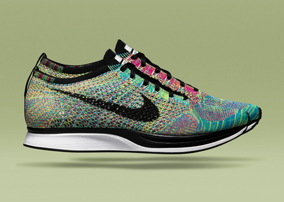 Кроссовки Nike Flyknit Racer [Multi-Color]